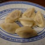 上海餃子 りょう華 - 水餃子