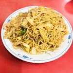 北京料理 松鳳 - 焼きそば大盛り