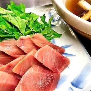 ねぎま鍋(葱と鮪の季節のお鍋)が登場!