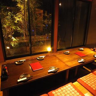 【静岡駅南口徒歩3分】完全個室ご用意しております。