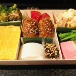 蕎麦屋 山都 - 山都のおつまみ折詰 ¥1800(税込)