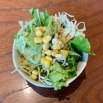 VEG KITCHEN - ベジキッチンセット ¥1,350 のサラダ