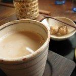 長屋茶房 天真庵 - ミルクコーヒー
