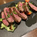 DECO - 牛バラ肉のがっつりステーキ200g