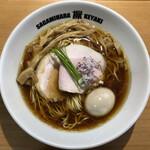 144808760 - 醤油らーめん(880円)+味玉子(100円)