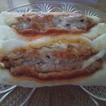 肉の山崎 - カツサンド2