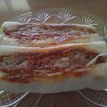 肉の山崎 - メンチカツサンド2