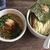 我流麺舞 飛燕 - 料理写真:辛い醤油つけ麺950円