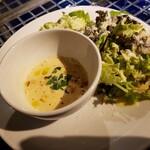 オルジェンティーレ - スープ&サラダ