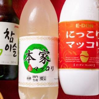 日本でも大人気☆飲みやすい韓国酒☆