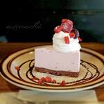 カフェゴーイチゼロ - 料理写真:レアチーズケーキ
