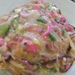 すだち - 料理写真:皿うどん細麺