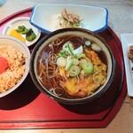 やき鳥 たつみ - 料理写真:「Bセット たつみ定食」①