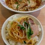 中華そば 陽気 - 中華そば680円/ご飯120円。