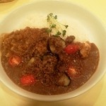 カレーハウス リオ - 挽肉とトマトのカレー