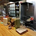 Fukusoba - 厨房