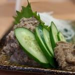 鮨・酒・肴 杉玉 - かに身たっぷり カニ味噌