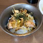 王子ラーメン - ミニネギチャーシュウ丼 200円