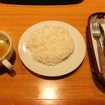 さわやか - ライスと野菜スープ