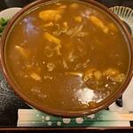 麺闘庵 - 特選カレーうどん大盛り①