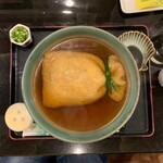 麺闘庵 - 巾着きつね①