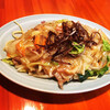 お食事の店萬福 - 料理写真:皿うどん
