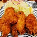 144843930 - カキフライ定食