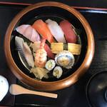 寿司ダイニングAYAMACHI - 宮部 1000円