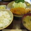 おかめ - 料理写真:ロースかつA定食¥680