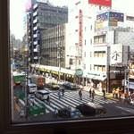 スターバックス・コーヒー - 店の3階からの眺め