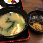 Keinohamanosato - お味噌汁の器が素敵でした