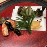 144857707 - アワビの唐揚げ。広東料理でいえば、糖心と表現するような食感でよかった。