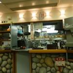 名代 富士そば - 厨房