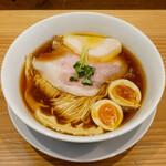 麺屋鈴春 - ☆味玉が濃厚でした(#^.^#)☆
