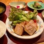 居酒屋 たぬき - [ランチ]豚肉の柚庵焼き