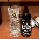 磯べゑ - ホッピー(黒) ¥422