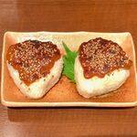 144863639 - 蕗味噌の焼きおにぎり(2個) ¥399