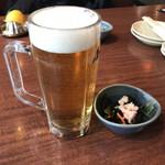 北の味紀行と地酒 北海道 - 生ビールはハッピーアワー的にお値打ち料金でした