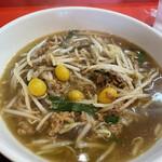 北京 - 料理写真:味付けは台湾ラーメンの唐辛子抜き