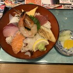 播磨水産 - 上海鮮丼