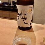 天ぷら 京星 - 〆張鶴 純 純米吟醸酒