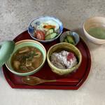 お茶と金継ぎの和カフェ 森の茶や - 料理写真: