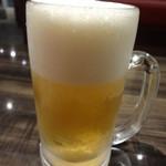八芳亭 - 生ビール567円