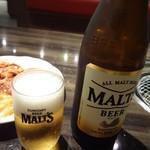八芳亭 - 瓶ビール(中瓶):630円