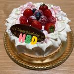 ロリオリサンロクゴ - * グレースホワイト ショートケーキ 3,996円