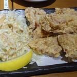 堂山食堂 - 鶏のから揚げ