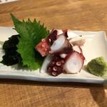 Ebizu - タコぶつ盛り499円(税別)