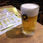 Ebizu - 飲みほースタート生ビール