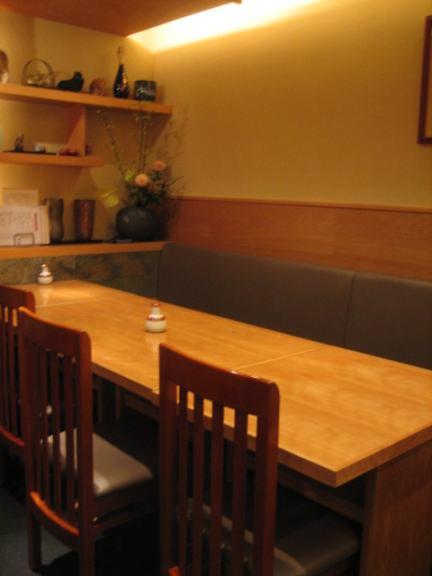 有酒 - 店内テーブル席