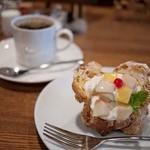 ほしの珈琲 - ほしの珈琲 ケーキセット